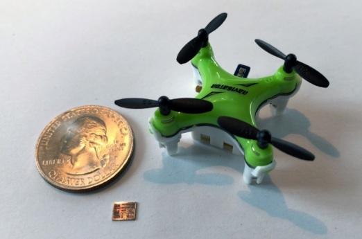 Нов чип ще позволи на дроновете да летят по-дълго с едно зареждане