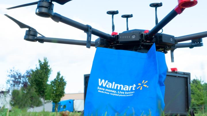Walmart стартира доставки по домовете с дронове