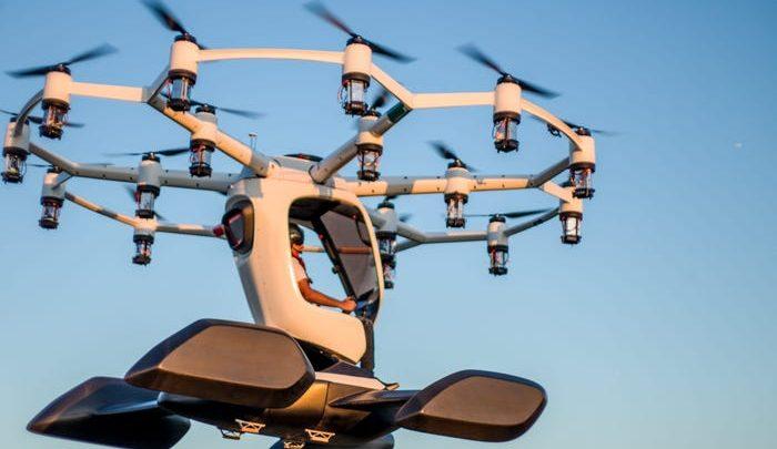 Създадоха електрически самолет, приличащ на дрон
