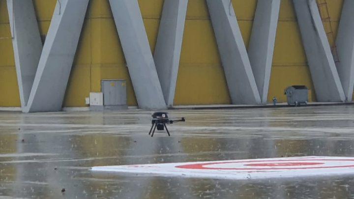 A1 показа първата доставка с дрон, управляван през 5G в България